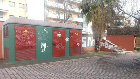 Vandalismo Parets del Vallès