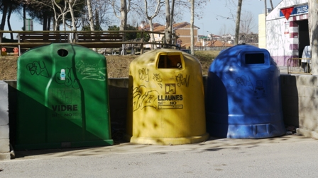 contenedores vandalizados