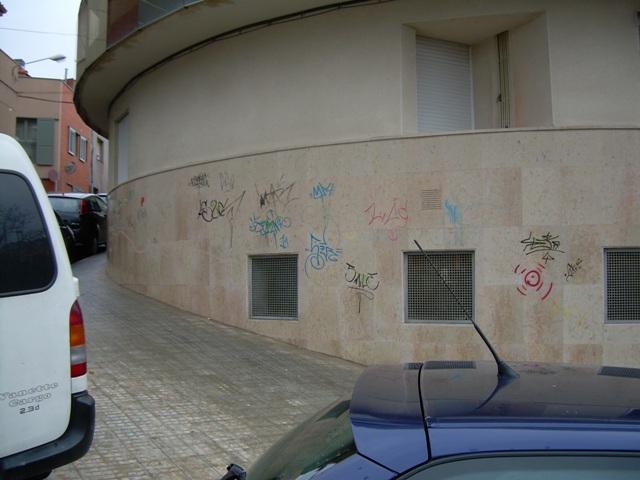 Comunidad de Vecinos graffiti 1