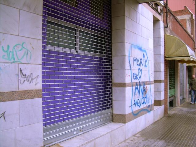 Comunidad de vecinos graffiti 13
