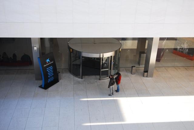 Vestíbulo museu CaixaForum